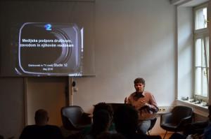 Civilno-družbeni mediji v informacijski družbi (Zoran Mihajlović, Zavod Studio 12).