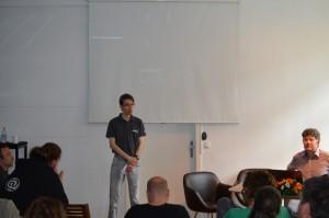 Gašper Deržanič (Mozilla Slovenija), moderator panela Prakse naslavljanja problemov informacijske družbe (projekti nevladnih organizacij).